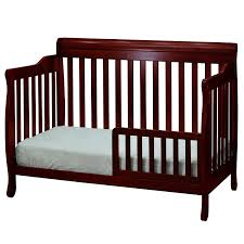 Best Baby Convertible Cribs by Amazon Com Athena Alice 4 In 1 Crib With Toddler Rail Cherry Baby