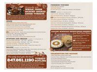 Urban Kitchen Menu - celebrate thanksgiving with real urban barbecue convenient carry