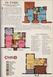 French Cottage Floor Plans French Provincial Style Cottage House Plans From 1928