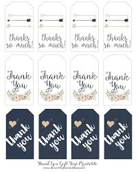 thank you tags thank you gift tags homesteads free printable and gift