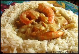 cuisine crevette mon tiroir à recettes de cuisine crevettes au curry