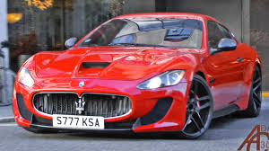 maserati red 2017 maserati granturismo s novitec tridente revs and acceleration hd