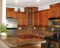 Kitchen Colors With Maple Cabinets Spice Maple Kitchen With Door Style Cabinets By Kitchen Cabinet