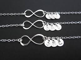 silver infinity bracelet with charms images 25 unique sister bracelet ideas sister jewelry jpg