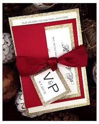 Cheap Halloween Wedding Invitations Red Laser Cut Wedding Invitations With Ribbon Bow Laser Cut