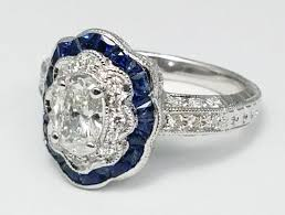 engagement rings nyc blue sapphire engagement rings from mdc diamonds nyc