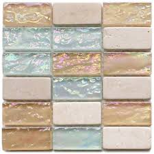 Glass Bathroom Tiles Ideas Colors Love This Tile With Sea U0026 Sand Colors I Searched Google Images
