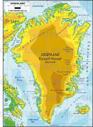 Canada Physical Map Geoatlas Continental Maps Greenland Map City Illustrator