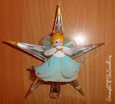 Christmas Decorations Angel Tree Topper by Vintage Christmas Decorations Strength Of The Small Finding