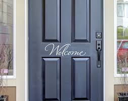 wall decals for the home welcome front door decal