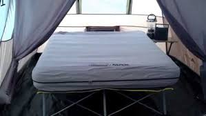 Air Bed With Frame Air Bed On Frame Coleman Max Pack Away Cot With Battery