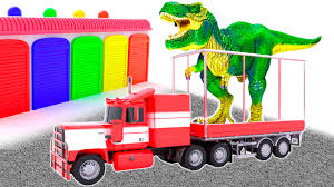 learn colors dinosaurs learn colors video kids