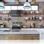 kitchen shelf decorating ideas modern interior decorating with open wall shelves small simple