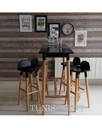 table cuisine bistrot achat table haute cuisine bistrot tables de bar mange debout