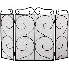 fire guard panel screen folding safety nursery fireguard fireside