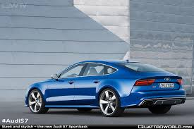 sleek and stylish u2013 the new audi a7 sportback quattroworld