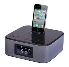 ipod alarm clock docking station
