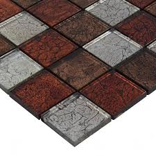 glass backsplash tiles maple leaf glass mosaic flooring zz009