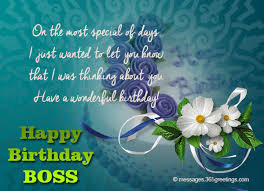 Samples Of Birthday Greetings Birthday Wishes For Boss 365greetings Com