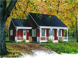 nice house plan with wrap around porch 3 country plans style front