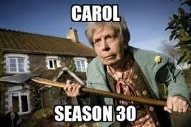 Carol Twd Meme - she would be a badass senior citizen the walking dead the