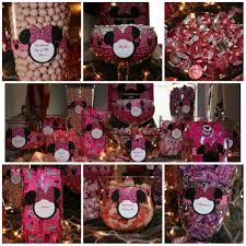 Birthday Candy Buffet Ideas by Minnie Mouse First Birthday Ideas Candy Buffet Photos Candy