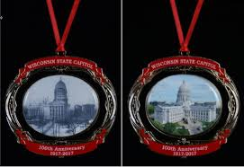 anniversary ornament state capitol ornament honors 100th anniversary of the iconic