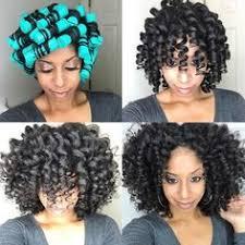 roller set natural hair african american hairstyles hair goals