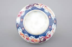 mandarin porcelain a export porcelain mandarin pattern bowl 18th c