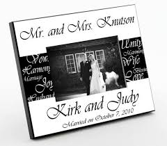 engravable wedding gifts engraved wedding picture frames awesome brilliant engraved wedding