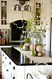 Farmhouse Cabinets For Kitchen Best 20 Kitchen Counter Decorations Ideas On Pinterest