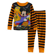 Toddler Boy Halloween T Shirts Mickey Mouse Toddler Boy Striped Halloween Glow In The Dark Top