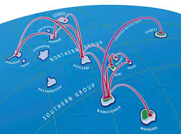where is cook islands located on the world map air rarotonga route map our destinations