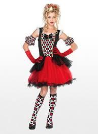 Queen Hearts Size Halloween Costume Pretty Playing Queen Hearts Size Costume Fabulous