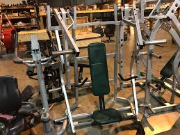 Seated Bench Press Midwest Used Fitness Equipment Hammer Strength Seated Bench Press