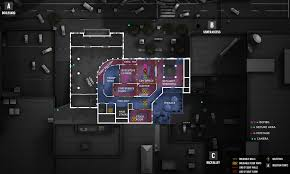 Floor Plan Of A Bank by Map Layouts With Callouts Objectives Cameras