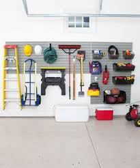 Garage Storage Organizers - kids sporting equipment out of the way great organization system
