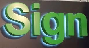 lighted alphabet metal letter sign light up letters for sign