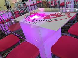led furniture aviance event planning and lounge decor nj