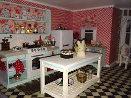 Dollhouse Kitchen Furniture Once Upon A Doll Collection Dollhouse Update Tour