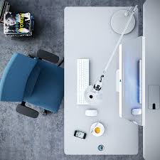 Office Chair On Laminate Floor Furniture Modern Contemporary Workspace Office Design Concept