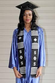 kente graduation stoles black swing phi swing graduation kente stole