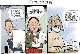Cyber Monday Meme - cyber monday in u s and egypt editorial cartoon cleveland com