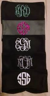 monogram headband monogrammed c chair chair by poshprincessbows1 on etsy