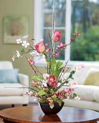 tulip arrangements shop cherry blossom dogwood tulip silk flower arrangements at