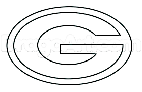 gallery of nfl logo coloring pages green bay packers logo coloring