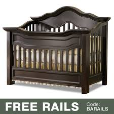 Baby Convertible Crib Baby Appleseed Millbury 3 In 1 Convertible Crib In Coco Free Shipping