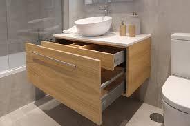 muebles de lavabo mueble de lavabo en madera de castaño casmabellecasmabelle