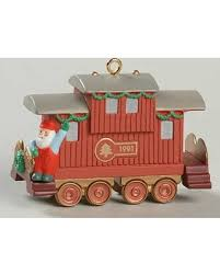 sale hallmark claus company rr railroad with box collectible