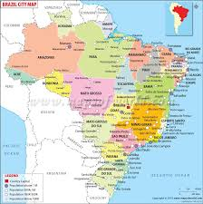 map of brazil cities in brazil map of brazil cities